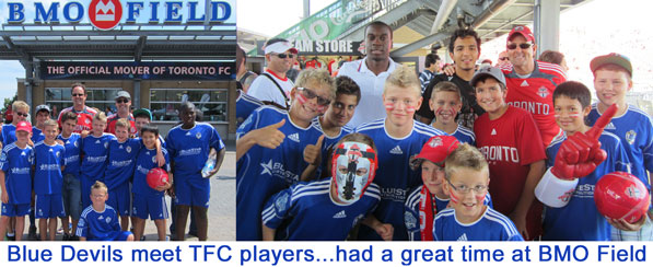 blue devels. marconi club london ontario, at bmo field toronto ontario, steve brazier